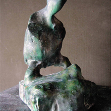 Sokhranski, Heilige Babe, Galerie Thomas Flor, 2006