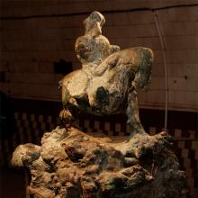 """Sokhranski, Ausstellung """"der Oberteil"""", Winzavod, 2008"""