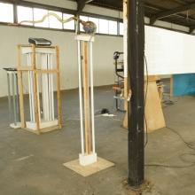 Leonid Sokhranski, Will to Absurd, Kunst im Hafen, 2012