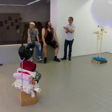 Leonid Sokhranski, Valentin und Katharina, Installation, 2013